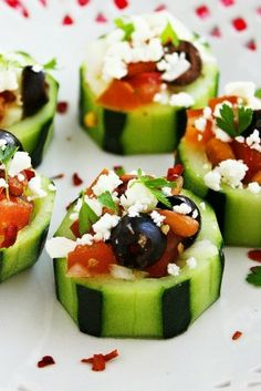 Wear to Stand Out - Mediterranean Cucumber Cups!