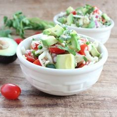 #HealthyRecipe / Spiralized Jicama  Avocado Salad
