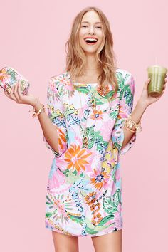 Exclusive: See the Complete Lilly Pulitzer x Target Collection - ELLE.com - Lilly for Target shift dress
