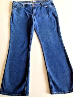 Disney Mickey Mouse Spell Out Boot Cut Jeans Size 28 Women&39s