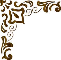 Litoarte Laser Cut Stencils, Stencil Diy, Stencil Patterns, Fabric Patterns, Ceramic Tile Art, Cute Frames, Viking Symbols, Types Of Painting, Leather Pattern