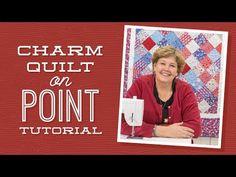 Missouri Star Quilt Tutorial - Charm Quilt on Point