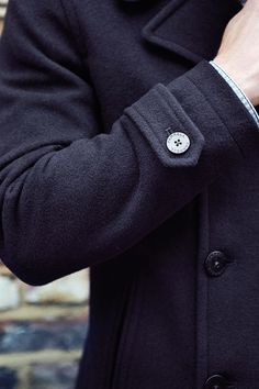 The pea coat.