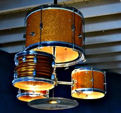 All Kinds Of Lighting -- Silly Chandeliers--Drum Set