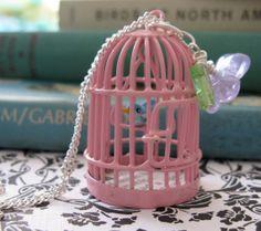 The Petite Oiseau Necklace II by Missbluebirdandoscar on Etsy, $26.00