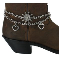 Shyanne® Women's Spur and Hearts Boot Bracelet, boot barn 9.99