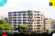 ✨ 👍 Finaliste #CEMEXBuildingAward2017 : Barcelona Tower au #Guatemala. ••••••••••••••••••••••••••••••••••••• #béton #beton #concrete #construction #readymix #pump #urban #city #architecture #architecturelover #moderndesign #architecturephotography #archdaily #architexture #streetphotography