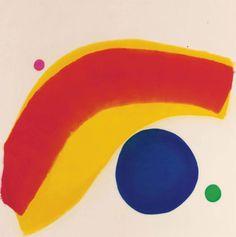 Jules Olitski (1922-2007) Arnolfini Baby! , 1964