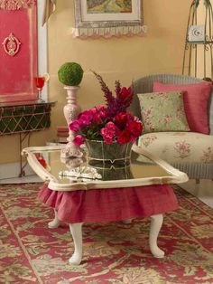 cute coffee table idea