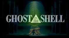 Image result for ghost in the shell anime title logo