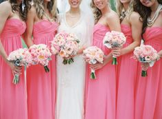 Give me a pink wedding done right, and you can count me a happy camper. But add in a dash of modern design with peonies galore, and you better brace yourself for a pinning frenzy like you've never seen. It's