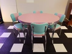 Kitchen Dinette Sets, Dining Table, Retro, Furniture, Home Decor, Decoration Home, Room Decor, Dinner Table, Home Furnishings