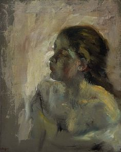 Edgar Degas - A Study of a Girl's Head late Acc. NG 2227 Medium Oil on canvas Size x cm Credit Presented by Sir Alexander Maitland in memory of his wife Rosalind, 1960 Degas Drawings, Degas Paintings, Your Paintings, Edgar Degas, Rembrandt, Art Ancien, Kunst Online, Post Impressionism, Foto Art