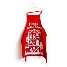 Фартук Home Sweet Home  / Красный