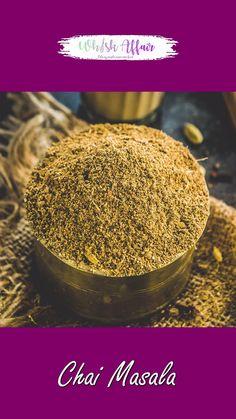 Masala Milk Recipe, Masala Powder Recipe, Chai Recipe, Spicy Recipes, Tea Recipes, Cuisines Diy, Masala Tea, Indian Dessert Recipes, Indian Milk