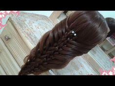 peinados sencillos faciles para cabello largo bonitos y rapidos con trenzas para niña mariposa#25 - YouTube