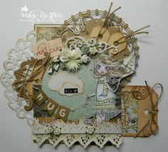6003/1002 Noor! Design Doilies door Tiets Wolfard