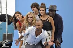 Eliza Taylor, Isaiah Washington, Lindsey Morgan, Marie Avgeropoulos, Ricky Whittle and Devon Bostick #The100 #SDCC