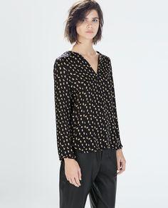 Image 1 of LONG SLEEVE SHIRT from Zara