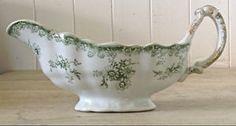 Pot à lait antique en porcelaine d'Angleterre