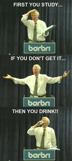 I knew I loved Barbri for a reason!