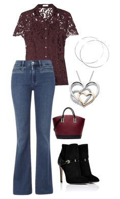 """""""Untitled #6"""" by rkdk1101 ❤ liked on Polyvore featuring Burberry, Emilio Pucci, MiH Jeans and Zara"""