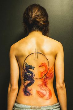About Joel Wright - Dragon Phoenix Back Piece