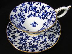 Coalport blue berries