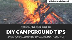Camping is an activity that brings so much joy, yet can also cause a great deal of frustration if you don't plan accordingly. Before you buy camping gear with all the bells and whistles, consider a few of the camping hacks that The Matador Network has put together. These tips will help save you money and a headache! #campingtips #fabulouslyfrugal