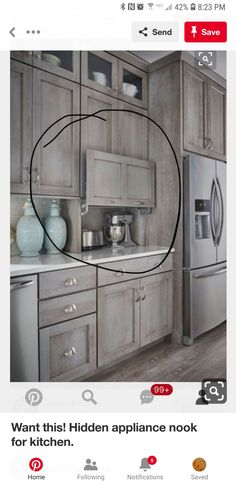Uplifting Kitchen Remodeling Choosing Your New Kitchen Cabinets Ideas. Delightful Kitchen Remodeling Choosing Your New Kitchen Cabinets Ideas. Farmhouse Kitchen Cabinets, Kitchen Redo, Home Decor Kitchen, Interior Design Kitchen, New Kitchen, Home Kitchens, Kitchen Appliances, Kitchen Cabinet Styles, Kitchen Cabinets With Glass Doors
