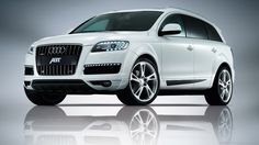 White Audi SUV -- I WILL own one of these one day!