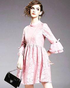 Shalena Flare Sleeve A-Line Skirt Mini Dress http://shalena.ca #women #fashion #onlineshopping #dresses #shoes #coat #love #life #american #canadian #australia #newzealand #uk #england #france #germany #spain  #latestfashion #beautiful #happy #pretty #colorful #sweet #bestquality #shopping #womenfashion  #followforfollow #follow4follow #f4f #ifollowbackalways