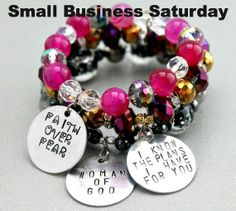 25% Off all handmade inspirational jewelry & FREE SHIPPING on $50+ with code CICFS www.cicinspireme.com!
