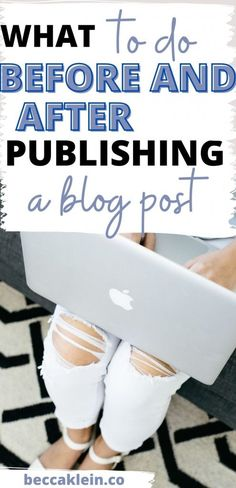 These are amazing blog tips for beginner bloggers! This list will tell you what to do before publishing a blog post and what to do after publishing a blog post. Don't miss out on these WordPress tips! Click through to check out the list! Blog Writing, Writing Tips, Instagram Tips, Blogging For Beginners, Social Media Tips, Blog Tips, Affiliate Marketing, How To Start A Blog, Entrepreneurship