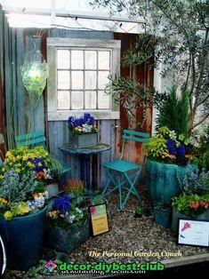 Garten   Garten Garden Nook, Garden Whimsy, Garden Art, Garden Center Displays, Garden Centre, Outdoor Rooms, Outdoor Decor, Garden Trellis, Garden Structures