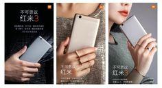 Xiaomi Redmi 3 smartphone