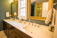 Bathroom Vanity #interior #bathroom #vanity #customhomes #rockwellcustom