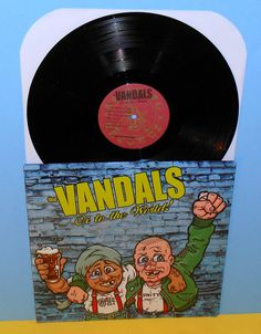 The VANDALS oi to the world Lp Record Vinyl #punk