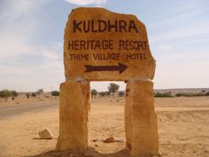 Story of Cursed Abandoned Village Kuldhara in Deserts of Jaisalmer Scary Ghost Stories, Estonia Travel, Village Hotel, Most Haunted Places, Jaisalmer, India Tour, Ghost Towns, Heritage Site, Historical Sites