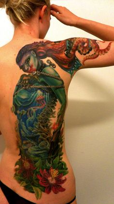 Mother Nature, bound and controlled : Tattoos : this is beautiful! Best I've seen! WOW!