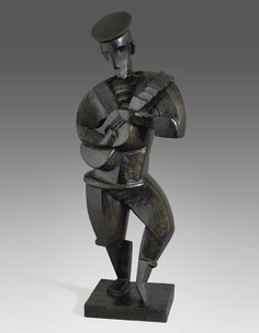 Jacques Lipchitz(Lithuanian-French, 1891-1973) Sailorwith the guitar (Marin à la guitare), N/DMade of Bronze