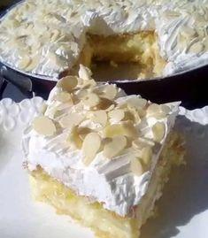 Greek Sweets, Greek Desserts, Greek Recipes, Cookbook Recipes, Cake Recipes, Dessert Recipes, Greek Pastries, Food Snapchat, Macaron Recipe