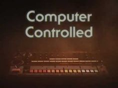 Watch the original advert for the Roland TR-808 from the 1980s
