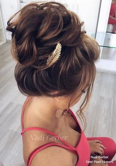 Wedding Hairstyles Updo Top 18 High Bun Wedding Updo Hairstyles – My Stylish Zoo - Top 18 High Bun Wedding Updo HairstylesHigh Bun Hairstyles have always been a popular choice for brides for th Box Braids Hairstyles, High Bun Hairstyles, Best Wedding Hairstyles, Updos Hairstyle, Bridal Hairstyles, Brunette Updo, Photomontage, High Updo Wedding, Trendy Wedding