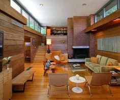 Waxman House designed by Barry Moffitt in 1964. Basically, my dream house.