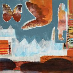 I remember, Randi Antonsen Abstract Expressionism, Abstract Art, Original Paintings, Original Art, Green Paintings, Painting Still Life, Artwork Online, Buy Art, Saatchi Art