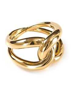Michael Kors Love Knot Ring -- would want to see how big it is in person.