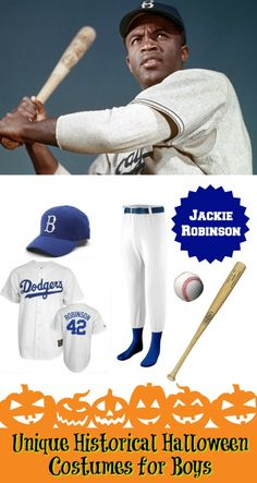 Jackie Robinson Halloween Costume - 10 Unique Historical Halloween Costumes for Boys