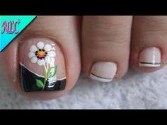 The Most Popular Nail Shapes – Page 2115701538 – NaiLovely Fall Toe Nails, Pretty Toe Nails, Pedicure Designs, Toe Nail Designs, Toe Nail Art, Easy Nail Art, Bright Red Nails, American Nails, French Nail Art