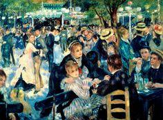 Baile en el Moulin de la Galette, Renoir - Los 22 cuadros que hay que ver antes de morir